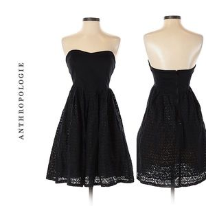 Nwot MOULINETTE SOEURS strapless dress. size 10